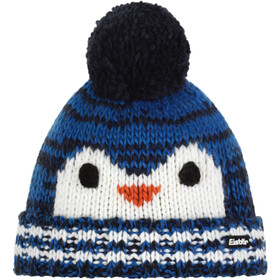 Eisbär Rico Pompon Hat Kids, blue mottled/white/terra/night